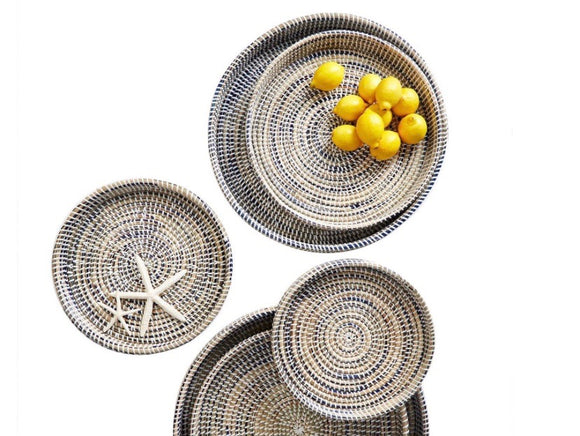 Nested Woven Trays