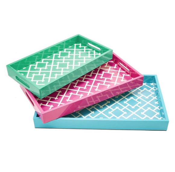 Pattern Play Gallery Trays