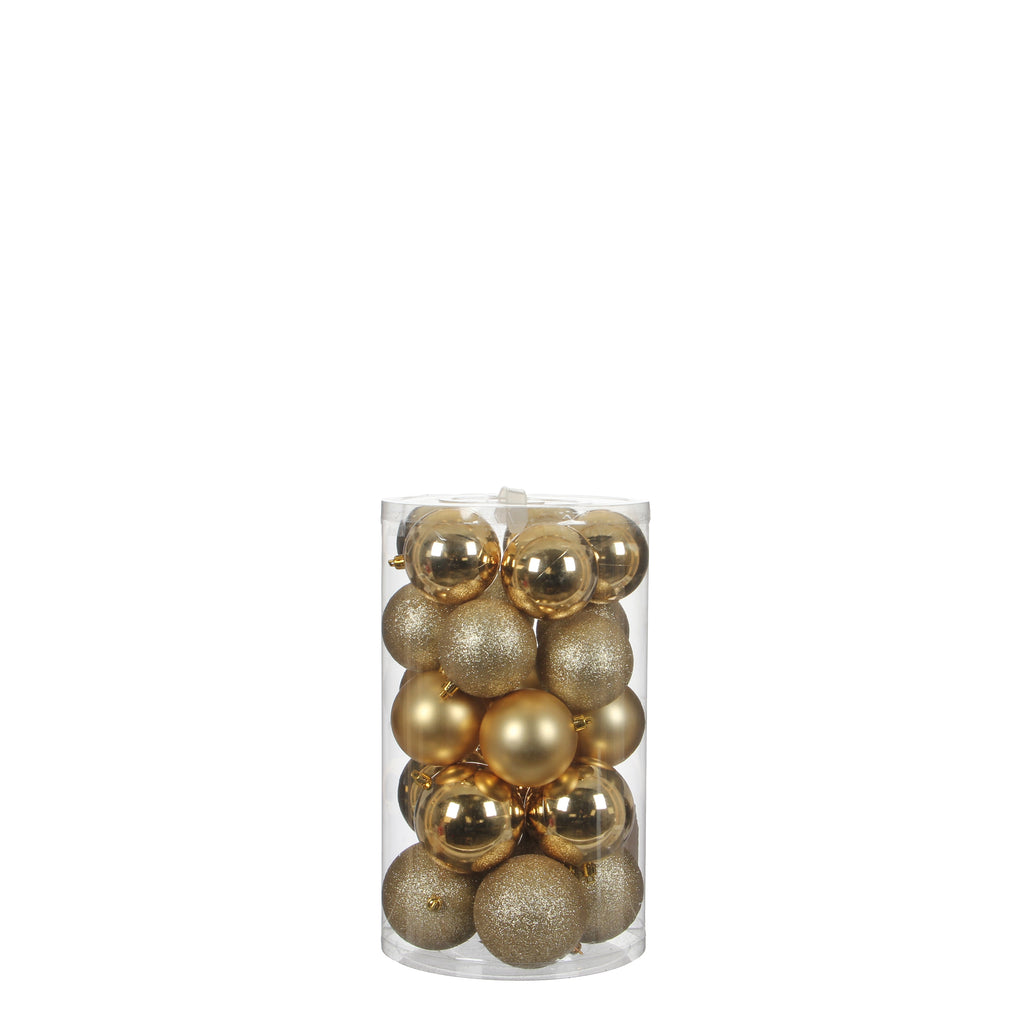 Bauble Unbreakable Gold 23 pieces