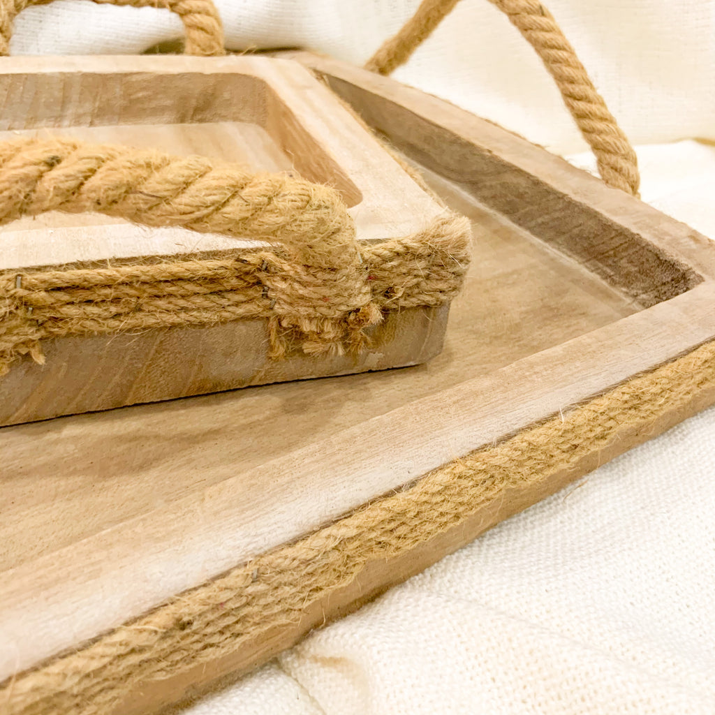 Rustic Trays