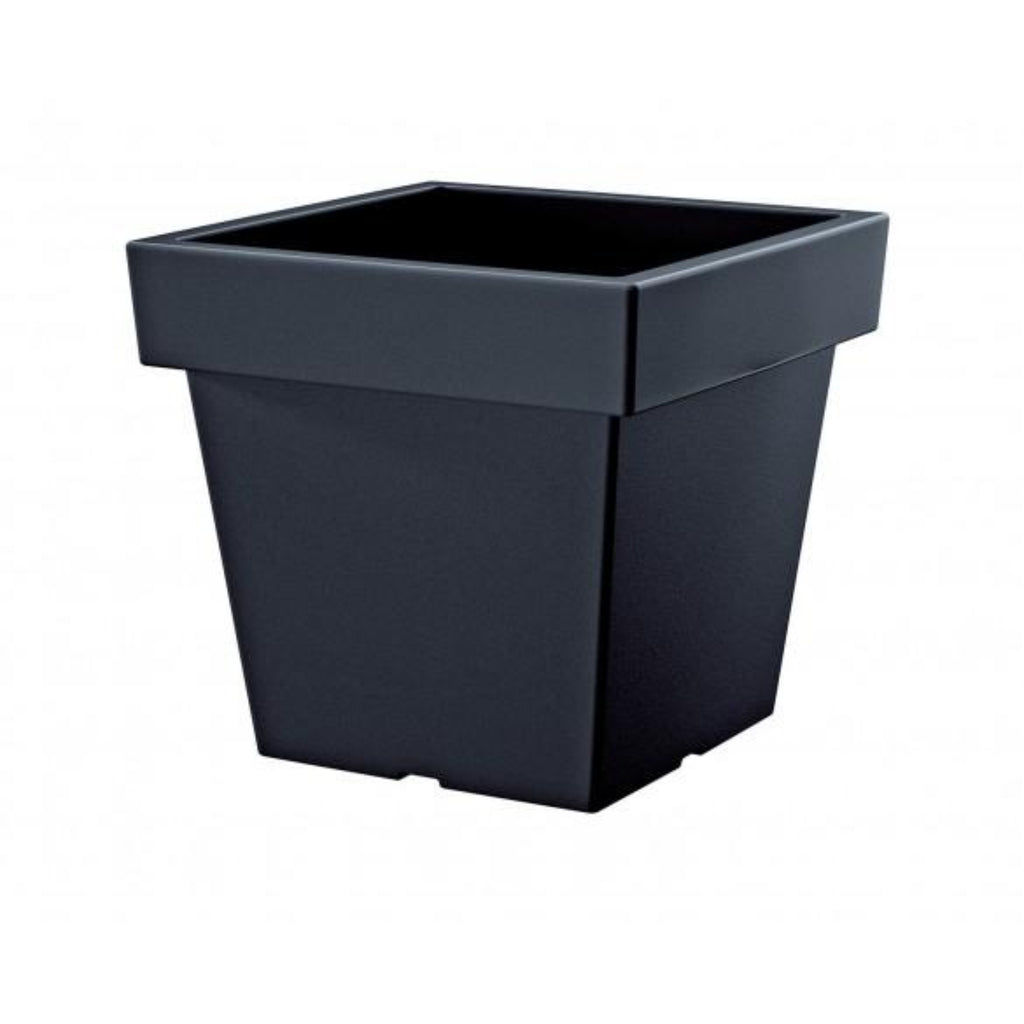 SQUARE Pot Large Black