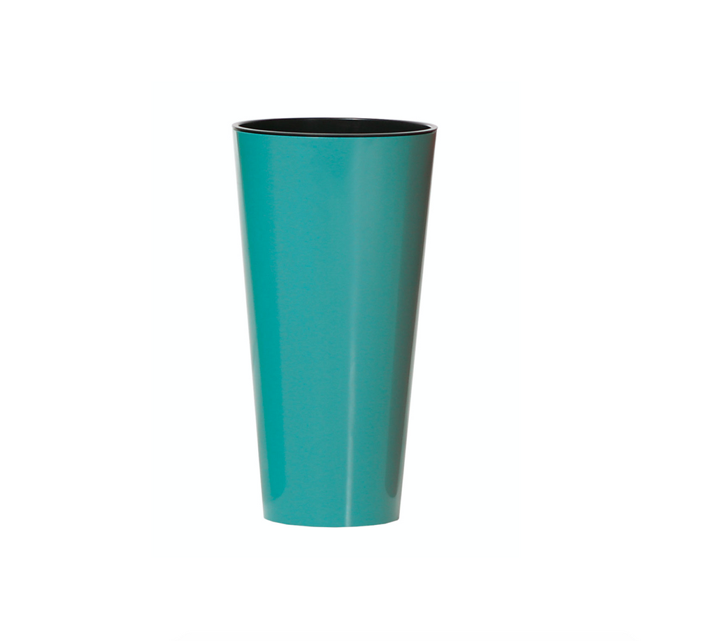 TUBUS Pot with Insert - Turquoise