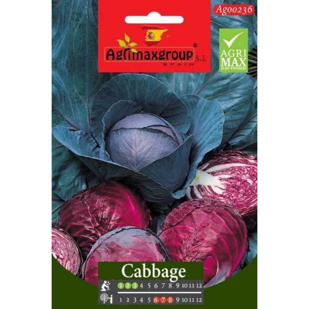 Agrimax Red Cabbage Seeds