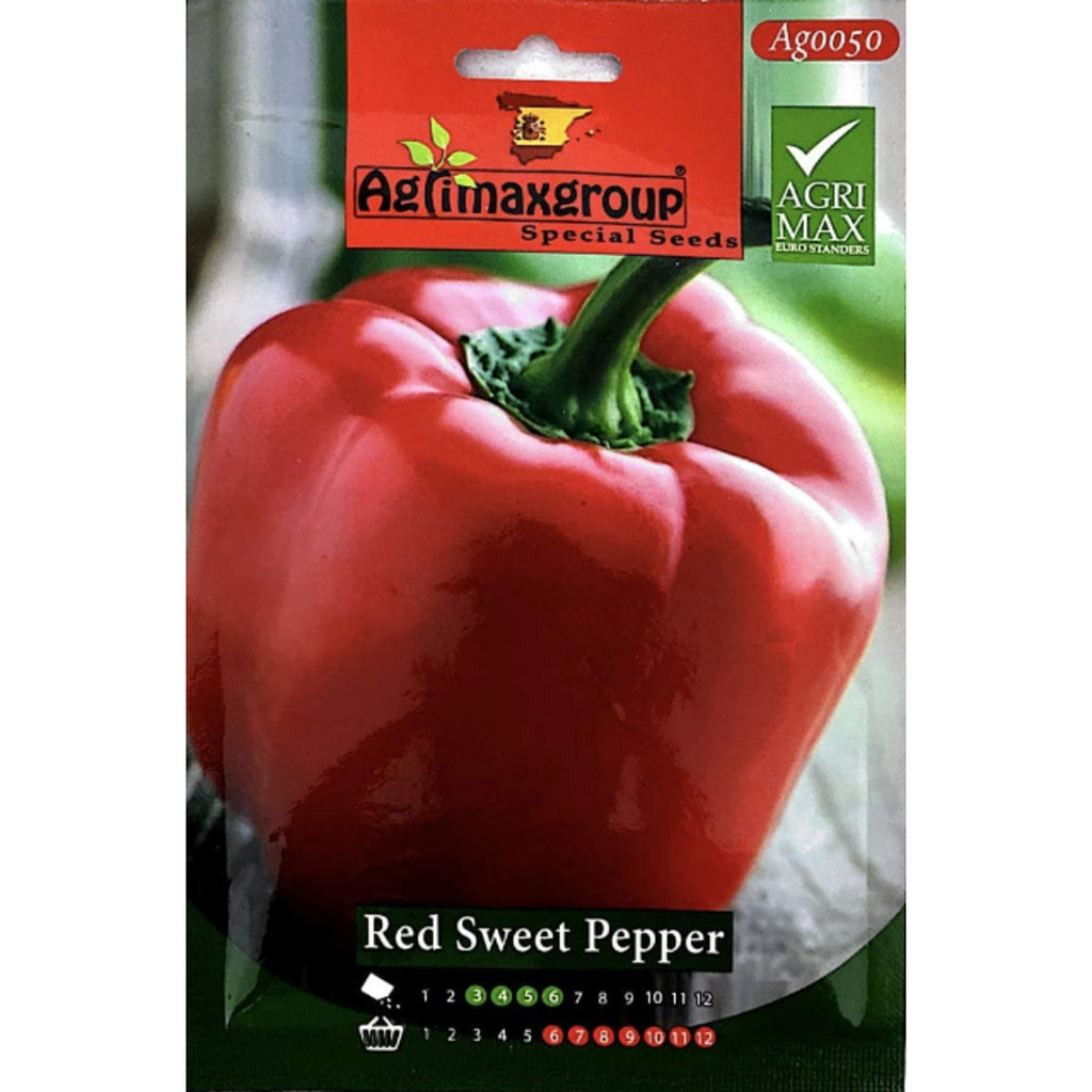 Agrimax Red Sweet Pepper Seeds
