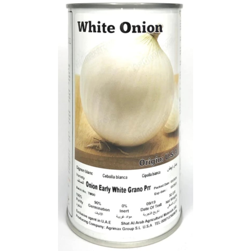 Agrimax White Onion Premium Quality Seeds