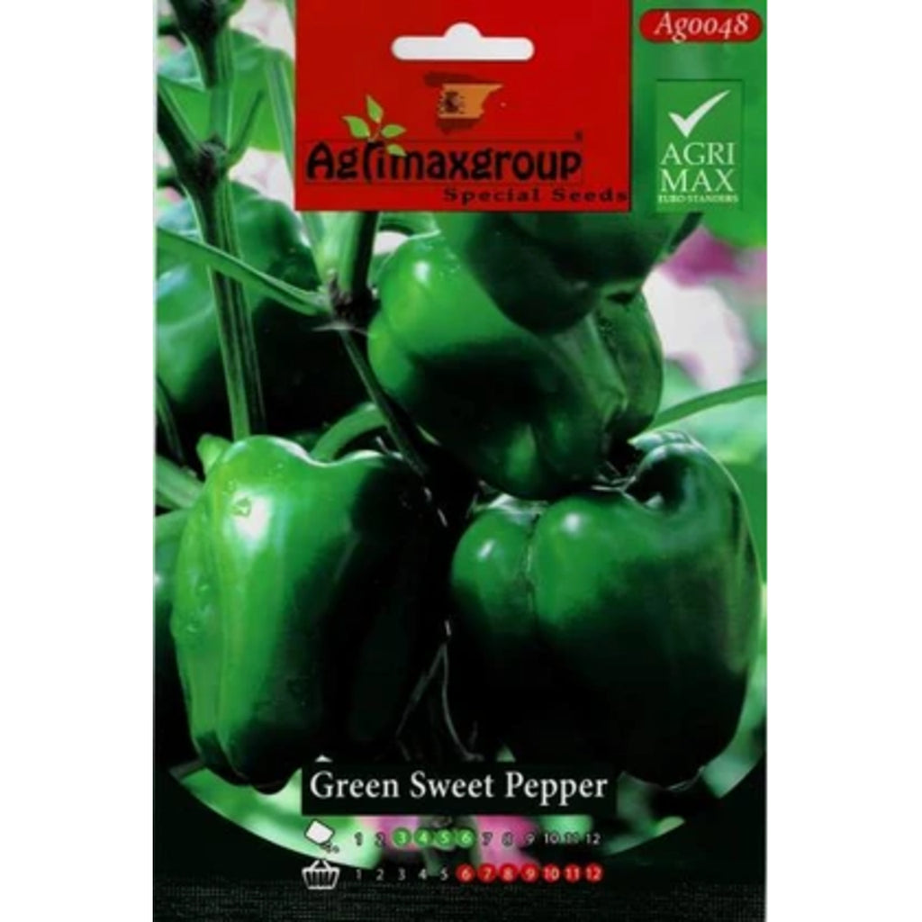 Green Sweet Pepper Agrimax seeds