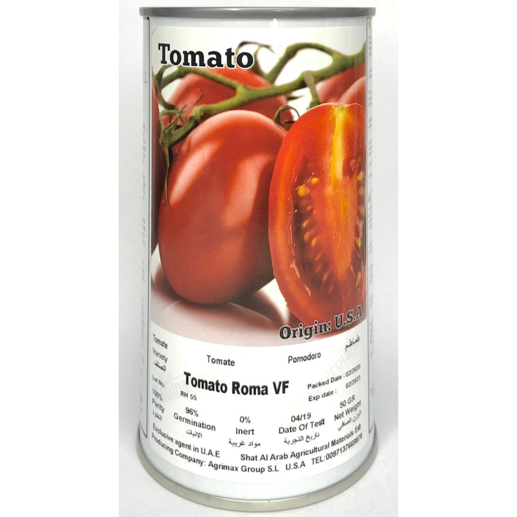 Agrimax Tomato Roma - Premium Quality Seeds in Can