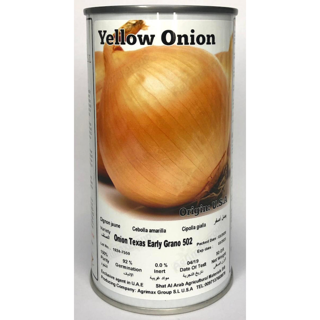 Agrimax Onion Texas - Premium Quality Seeds in Can