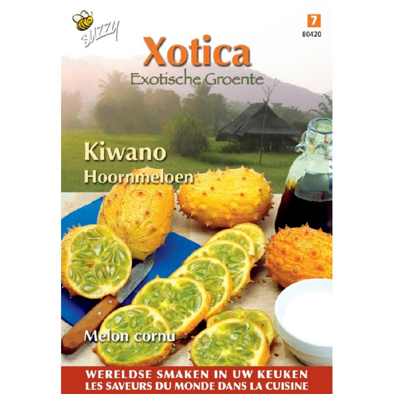 Horned Cucumber Seeds Buzzy® Xotica