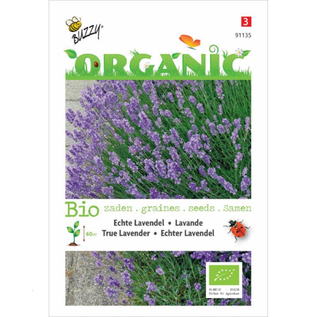 Organic Seeds Lavender Buzzy