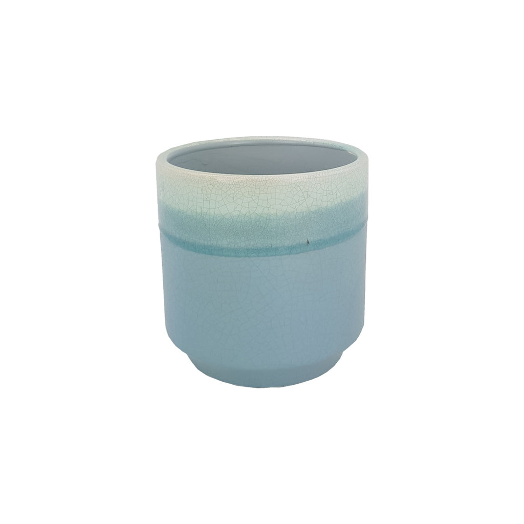 Ludo Pot Round Light Blue