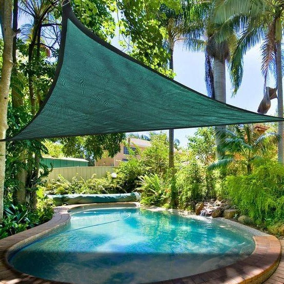 Triangle Shade Sail - Green
