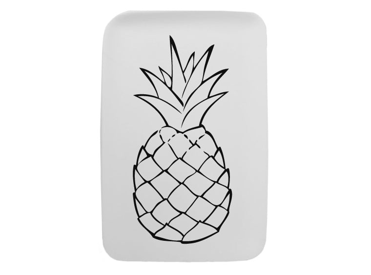 Perfect Pineapple Plate