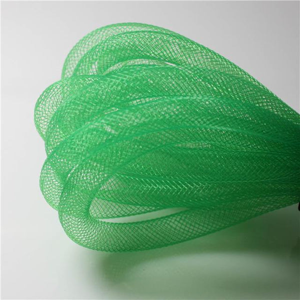 3 MTRS  x 8mm MESH PLASTIC NET TUBING crafts  jewellery making CHOOSE COLOUR