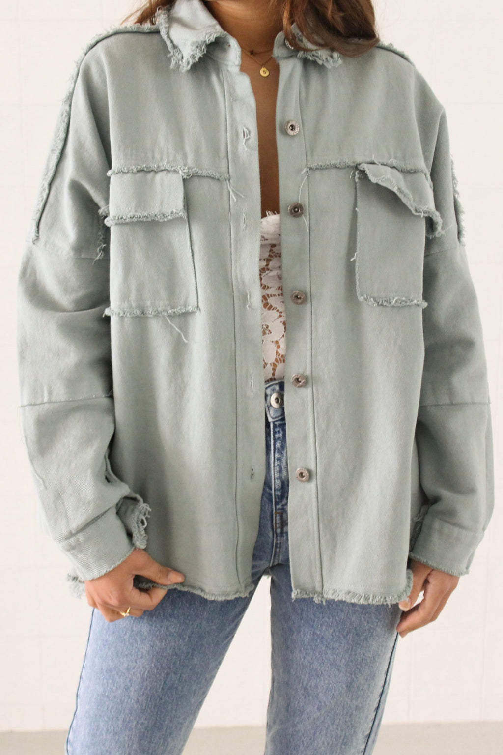 Jacket Bella green