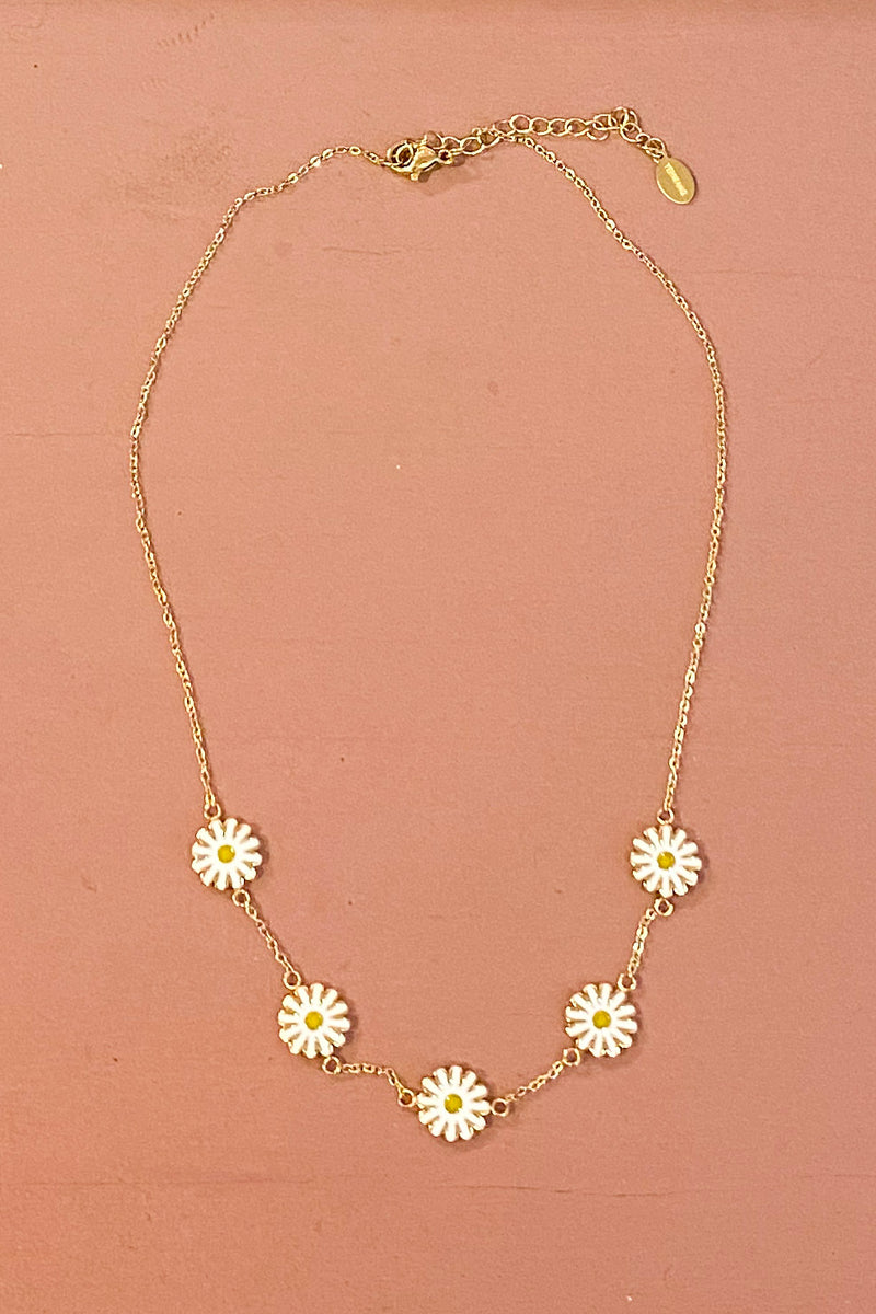 Necklace daisy
