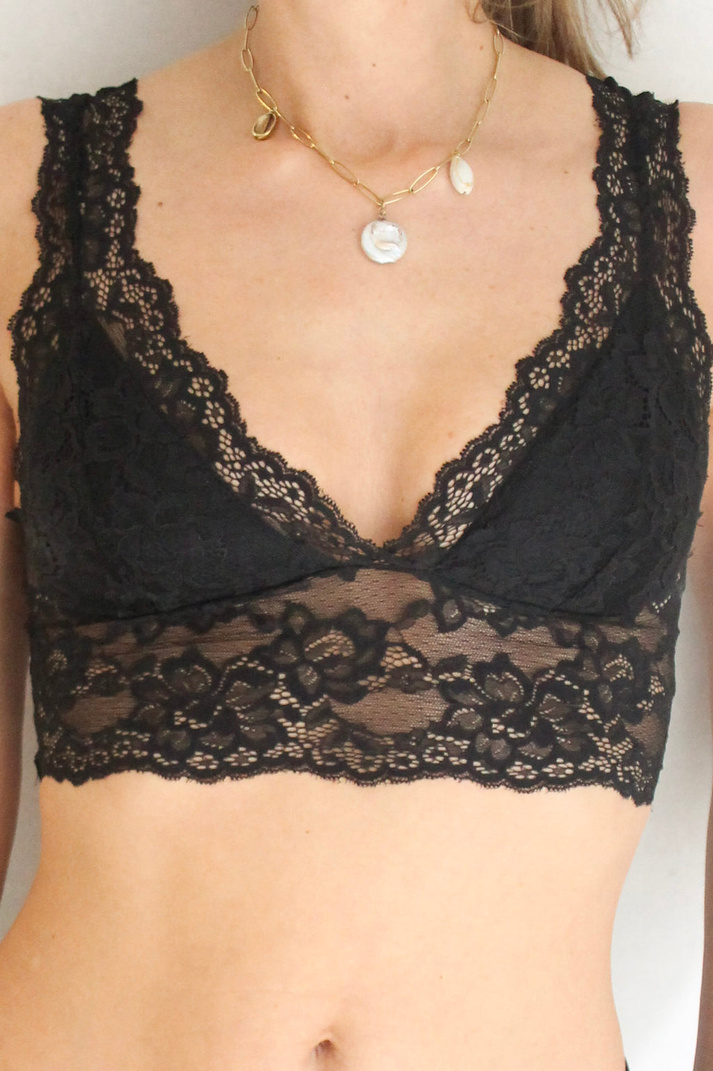 Bralette lace / + 1 color