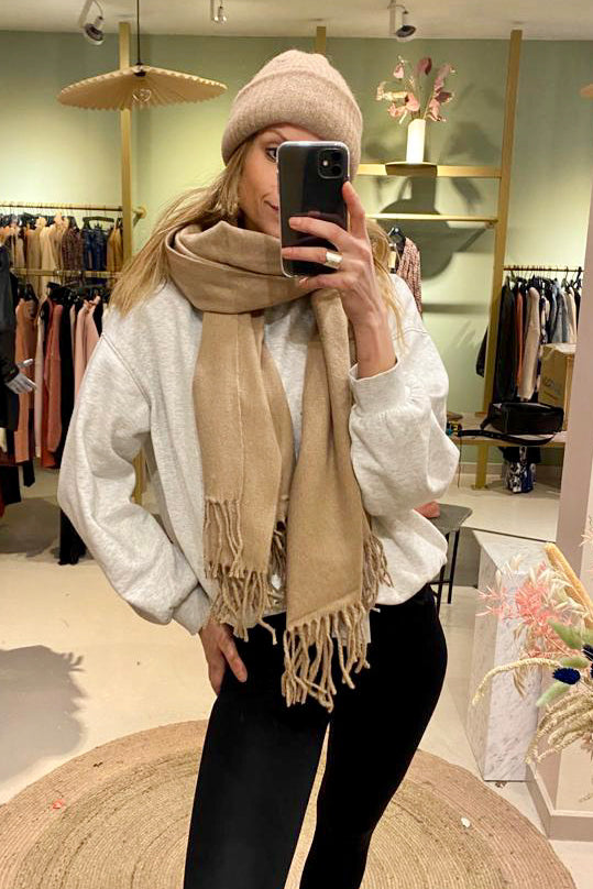 Wool scarf/+ 4 colors