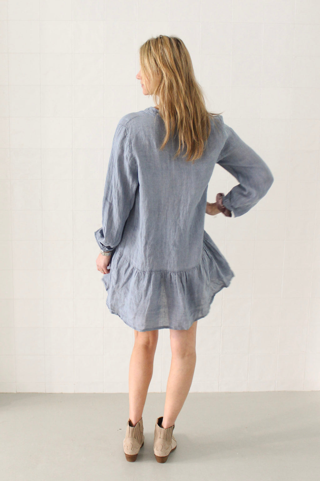 Linen dress /+ 1 colour