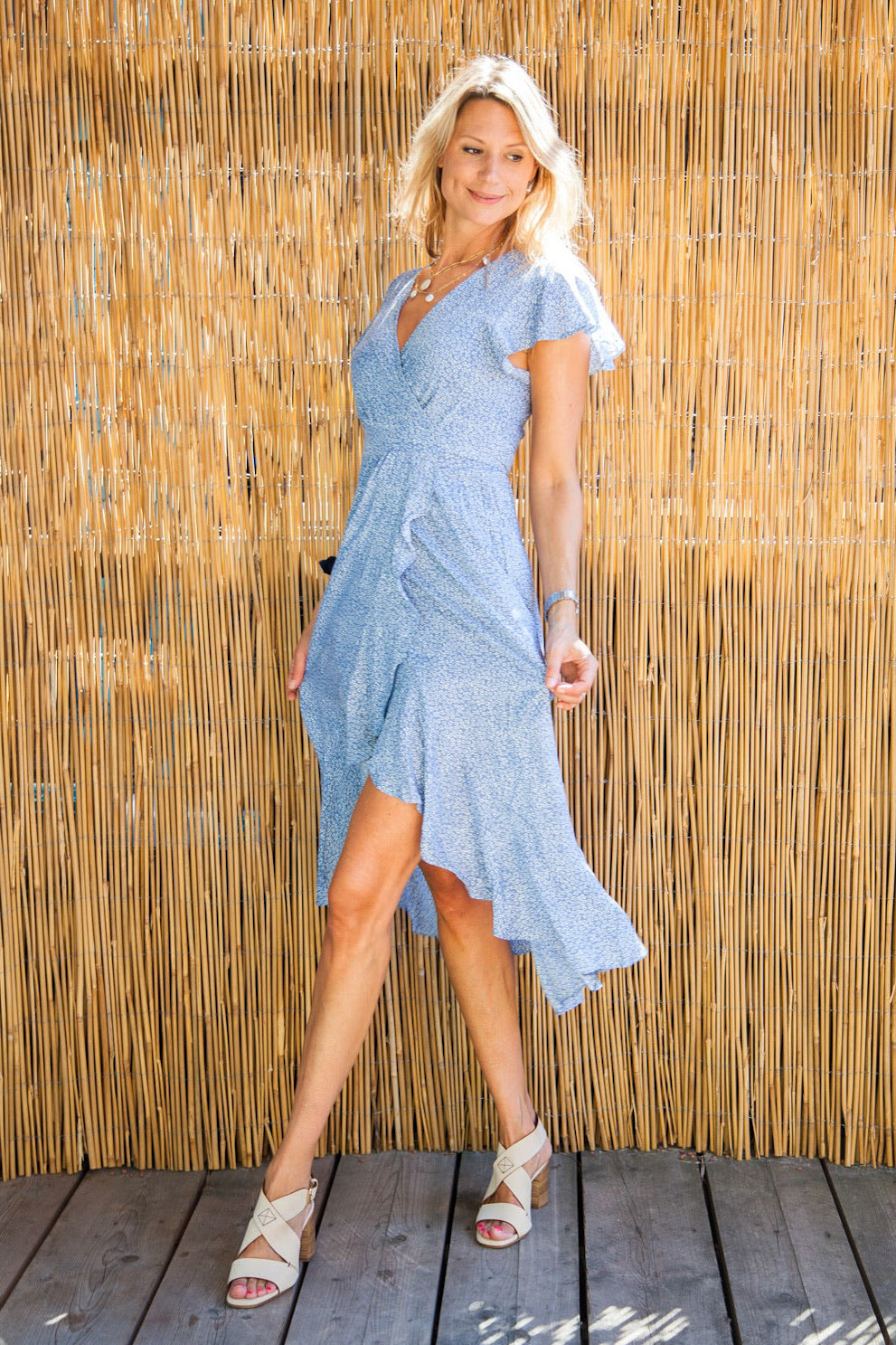 Wrap dress Liv/+ 1 color