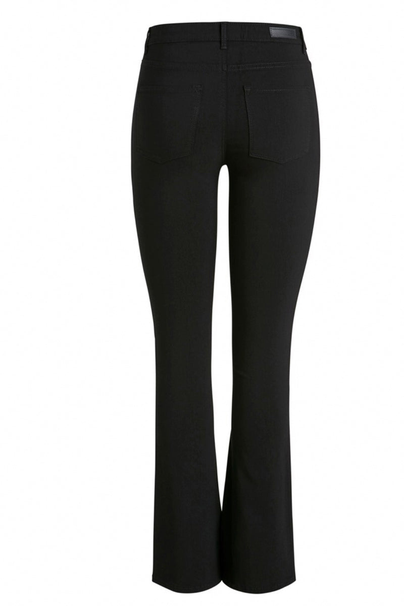 Black Flared stretch