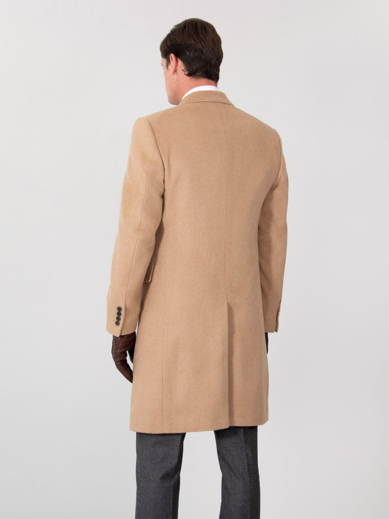 Baby Camelhair Chesterfield Coat
