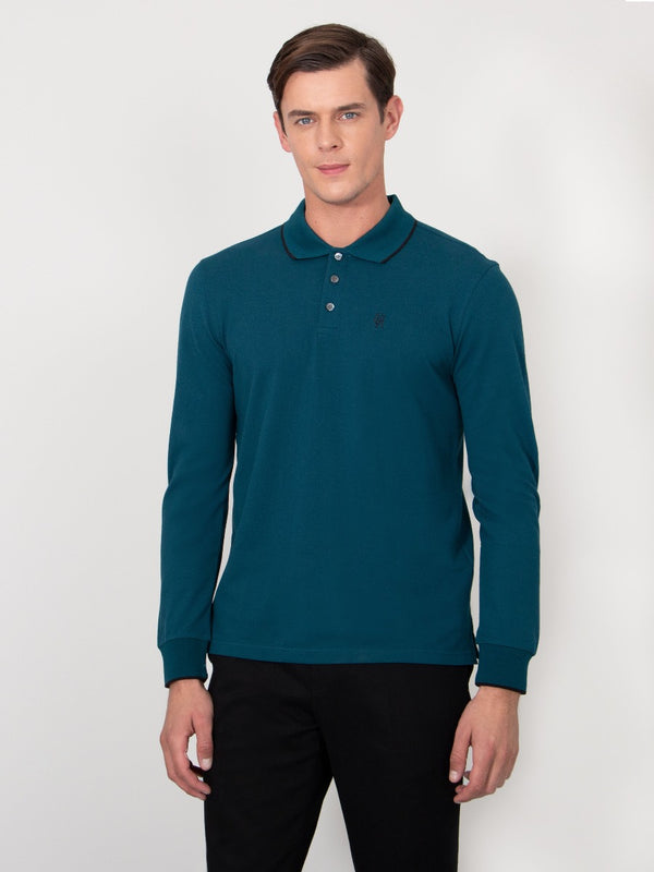 Fine Cotton Piqué Polo Shirt