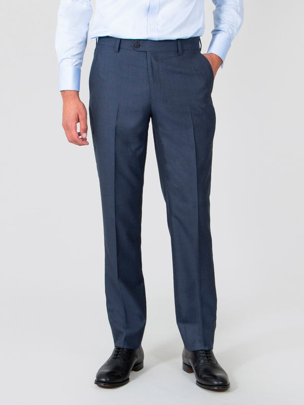 Raf Blue Suit Trousers