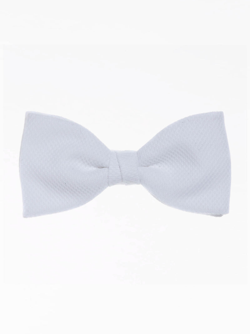 White Marcella Ready-tied Bow Tie