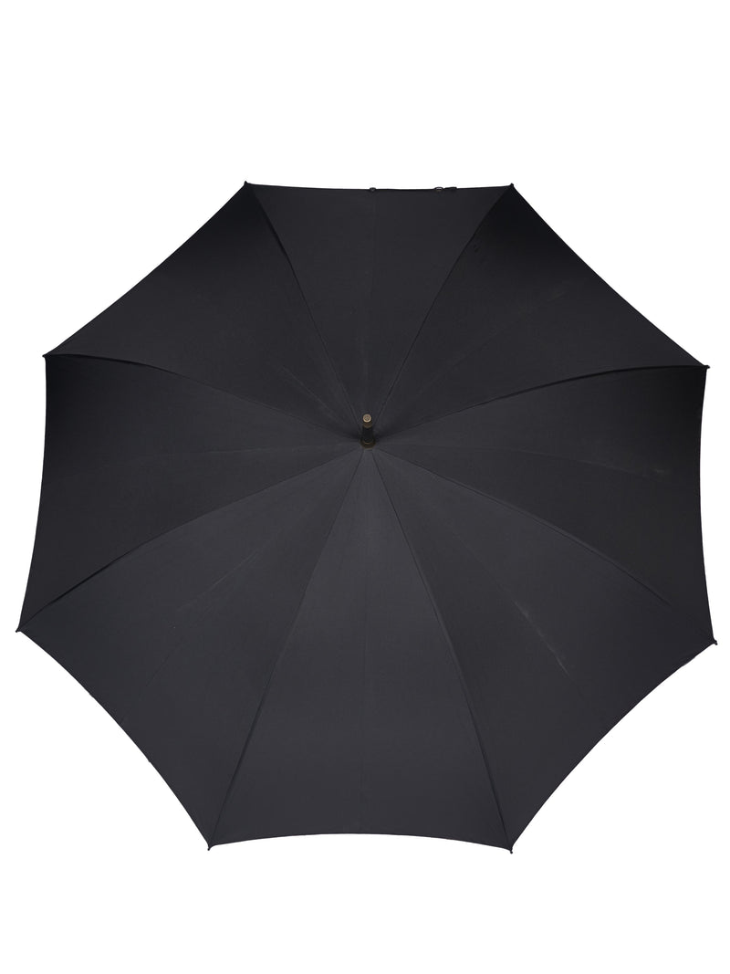Classic Black Matt Maple Handle Umbrella