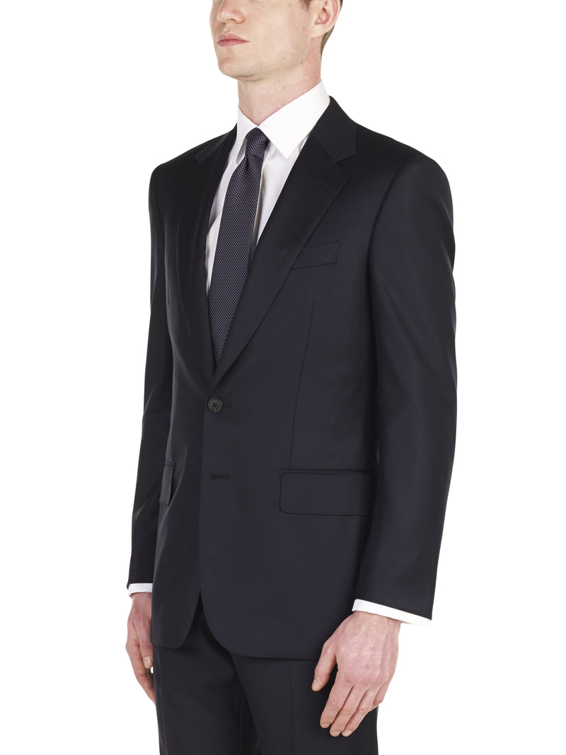 Handmade Classic Navy Twill Suit