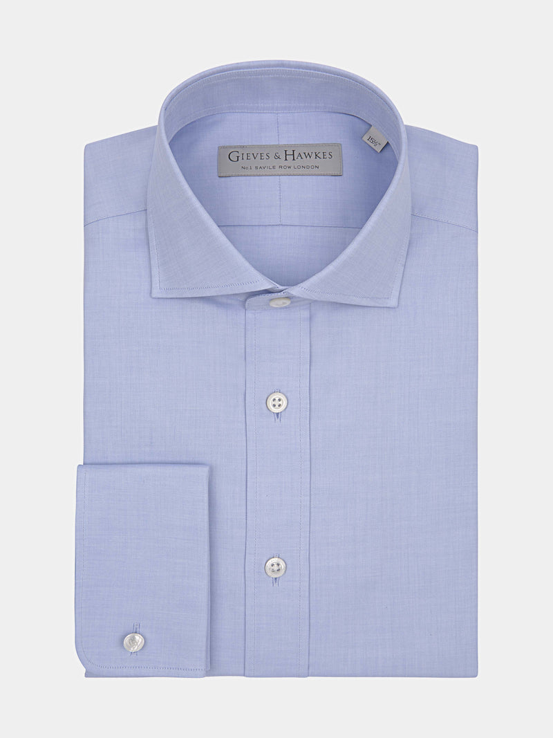 Classic Fit Spread Collar Double Cuff Shirt