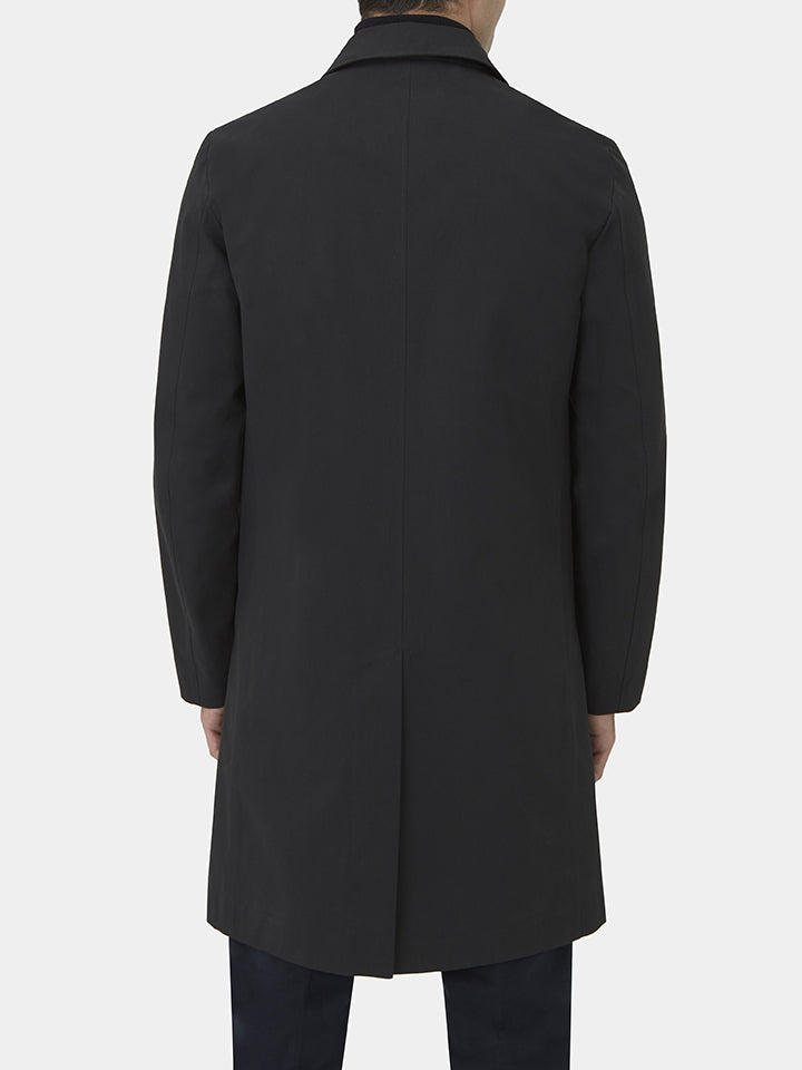 Bonded Single-breasted Raincoat