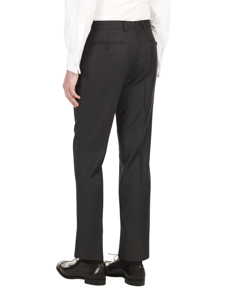 Classic Charcoal Suit Trouser