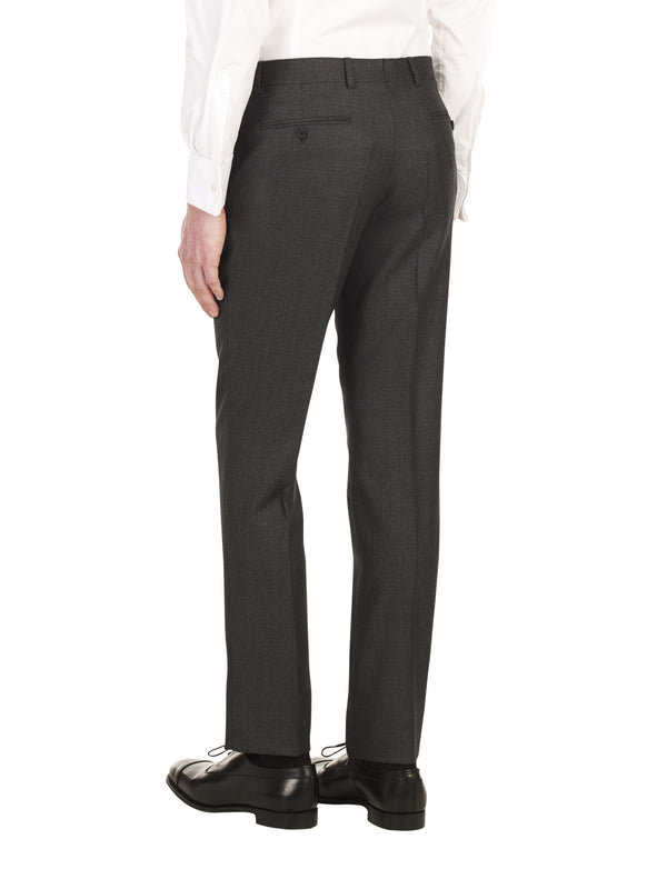 Classic Charcoal Birdseye Trousers