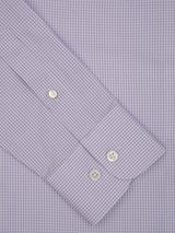 Fine Gingham Check Tailored Fit Shirt