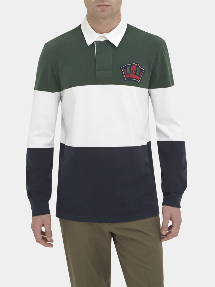 Hoop Striped Jersey Rugby Shirt