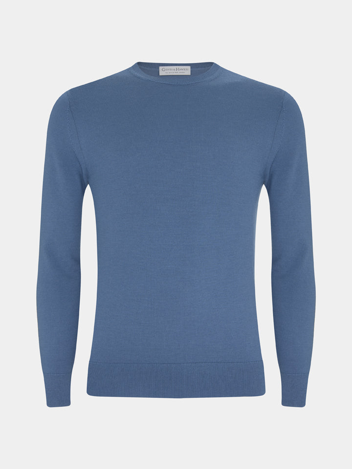 Merino, Silk And Cashmere Crewneck