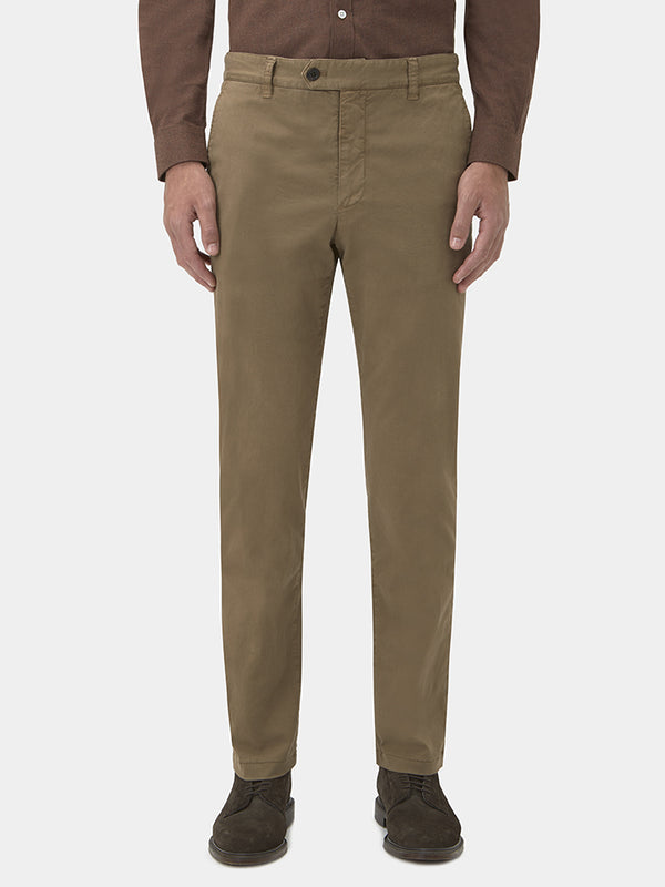 Slim Fit Cotton Drill Chinos