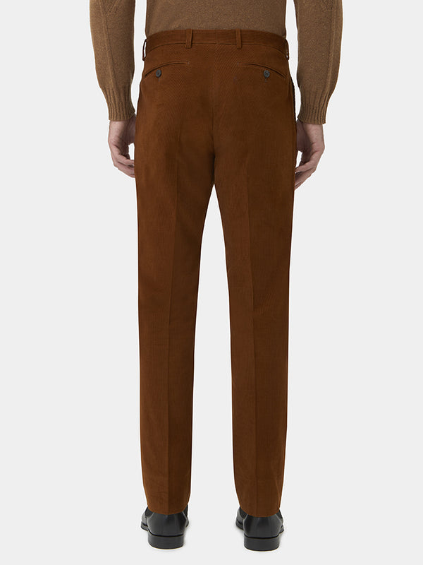 Fine Cotton Corduroy Trousers