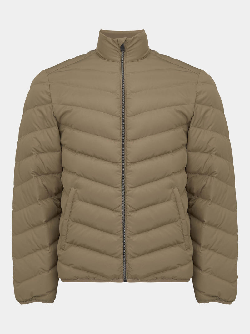 Quilted Zip-up Blouson