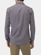Cotton Tonal Check Casual Shirt