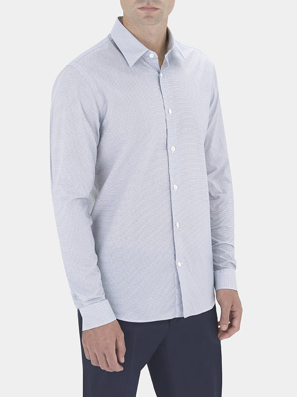 Soft Textured Casual Shirt
