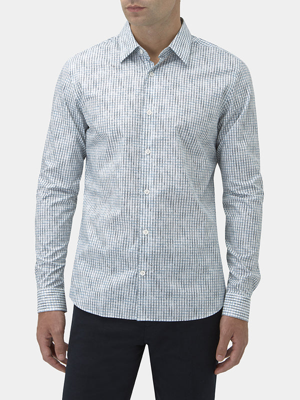 Gingham Check Flannel Casual Shirt