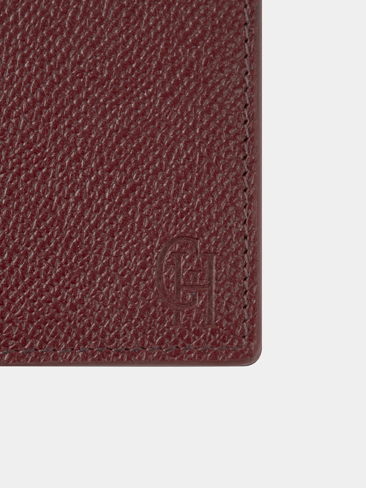 Saffiano Leather Billfold Wallet