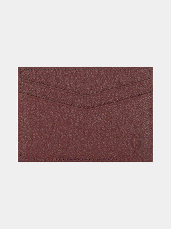 Saffiano Leather Card Case