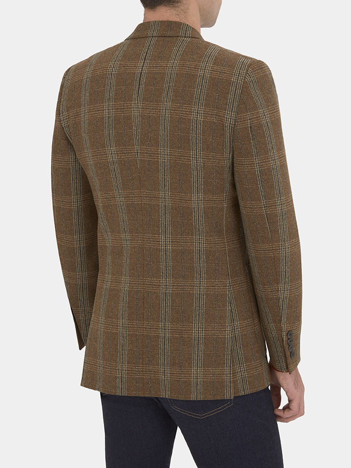 Country Check Wool Jacket