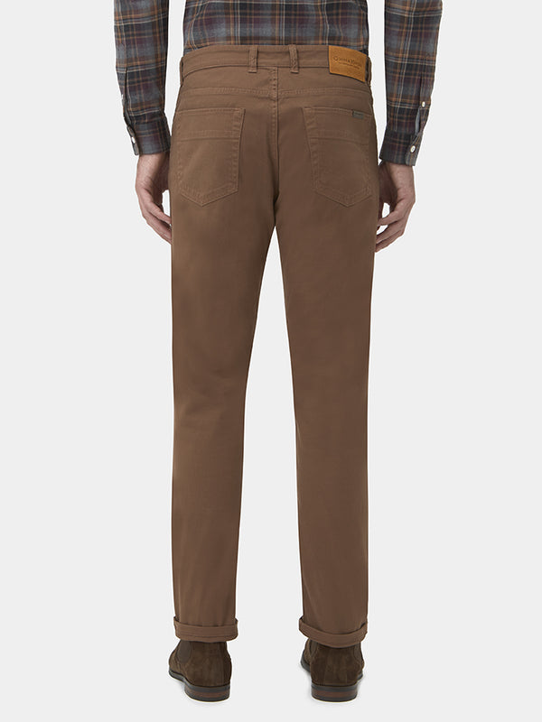 Five Pocket Cotton Drill Chinos