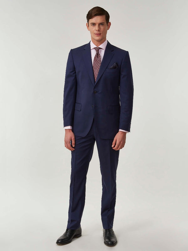 Royal Blue Superfine Virgin Wool Suit