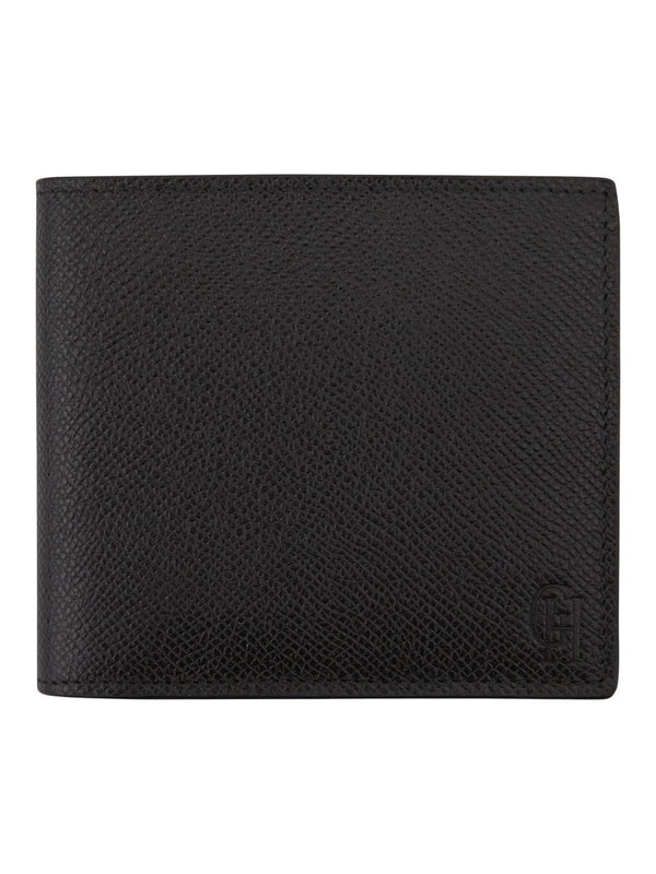Black Saffiano Leather Billfold Wallet